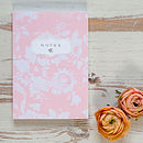 Luxury A6 Floral Notebook