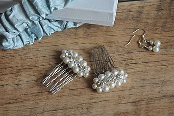 Bridal Hair Combs   New Luna 2014 Collection