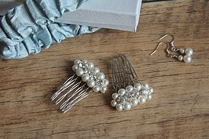 Bridal Hair Comb Luna Collection - weddings sale