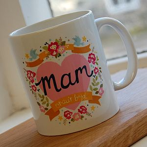 Welsh 'World's Best Mum' Mug - kitchen
