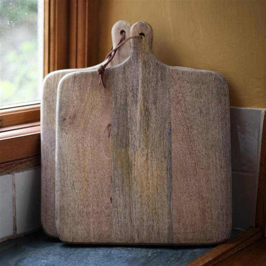 Square Wooden Chopping Board By Finch Amp Crane