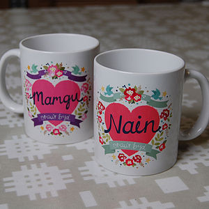 Welsh 'World's Best Grandma' Mug