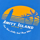 Jaws 'Amity Island Holiday' T Shirt
