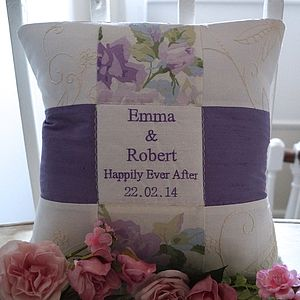Wedding Cushion   'Happily Ever After'
