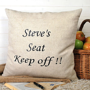 Personalised Cushion - cushions