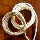 3mm Burlap Jute Cord Ribbon Two Metre
