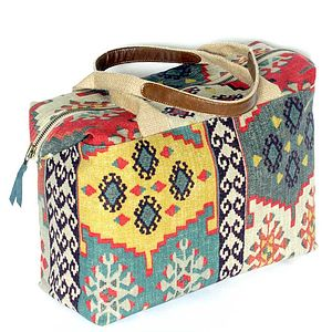 Kilim Weekend Bag - bags & purses