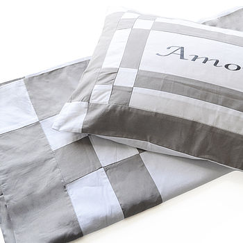 'Amour' Embroidered Bed Linen Set