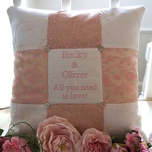 Wedding Cushion 'All You Need Is Love'