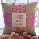 'Mother Of The Bride' Cushion
