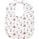 Girl's Towelling Lined Bib