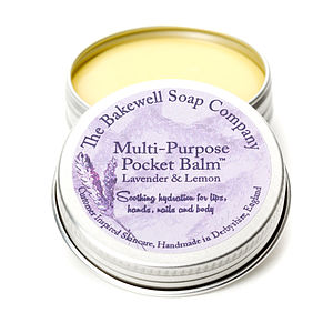 Soothing Lavender Multi Purpose Pocket Balm - nail care