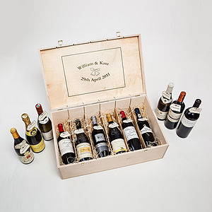 Twelve Bottle Connoisseur Wine Case - 50th birthday gifts