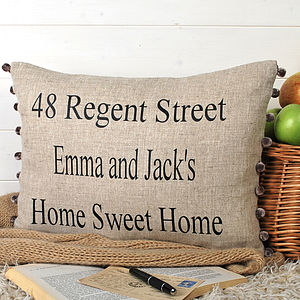Home Sweet Home Cushion - cushions
