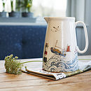 Cornish Coastal Large Jug