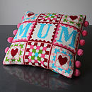 Cross Stitch Mum Granny Square Craft Kit