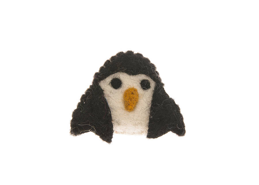 a pearl featuring faux centre pin brooch french most the has penguin adorable