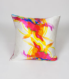 Ink Paradise Cushion - patterned cushions