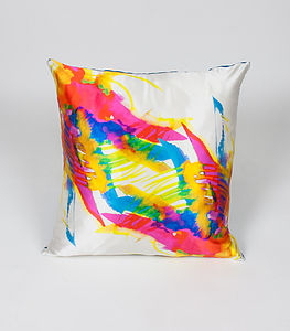 Ink Fauna Cushion - patterned cushions