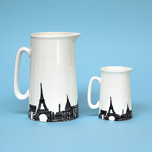 Paris Skyline Jug - jugs & bottles