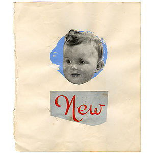 New Baby Collage - contemporary art