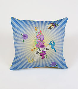 Spring Blast Cushion - patterned cushions