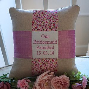'Our Bridesmaid Cushion' - cushions
