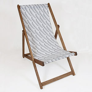 Ony Line Deckchair - garden furniture