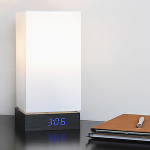 Click Clock Lamp