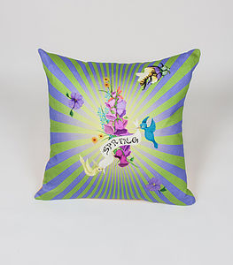 Spring Burst Cushion - cushions