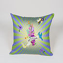 Spring Burst Cushion