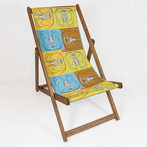 Ambly Deckchair - garden furniture