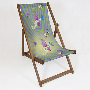 Spring Burst Deckchair - garden furniture