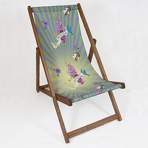 Spring Burst Deckchair - garden furniture