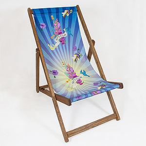 Spring Blast Deckchair - garden furniture