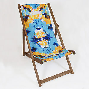 Ink Cage Deckchair - garden furniture