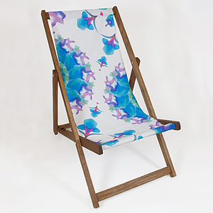 Ink Radius Deckchair - garden furniture
