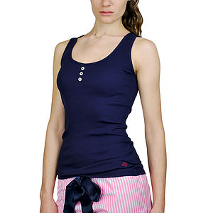 Tori Vest Top - lounge & activewear