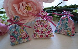 Wedding Favours   50 Mini Lavender Bags - decorative accessories
