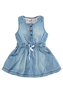 Alyssia Denim Dress - baby & child sale