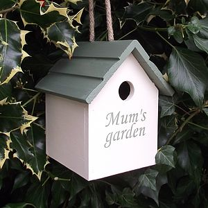 Mum's Garden Bird House - birds & wildlife