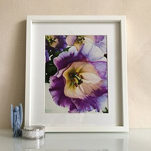 Floral Fine Art Giclee Print - nature inspired art