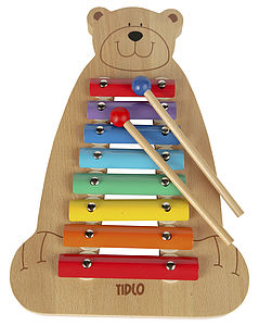 Musical Bear Xylophone - toys & games
