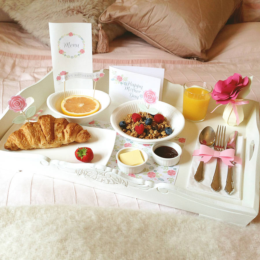 Mother 39 s day breakfast in bed kit by wit wisdom for Good ideas for mother s day breakfast in bed