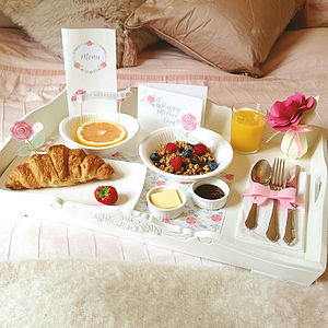 Mother's Day Breakfast In Bed Kit