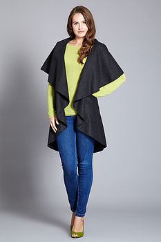 Multiway Cape Wrap Coat