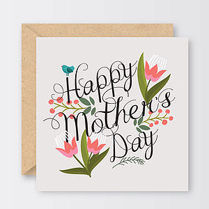 'Happy Mother's Day' Tulips Card