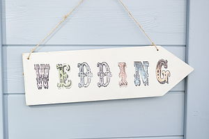 Wedding Arrow - outdoor decorations