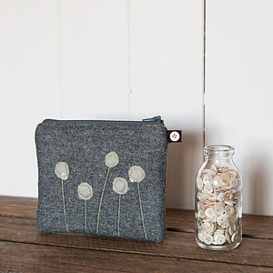 Green Seed Head Purse