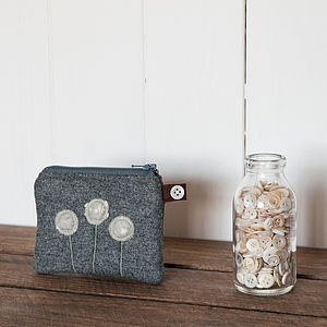 Little Green Seed Head Purse - purses